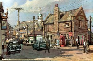 Newlyn Post Office Painting